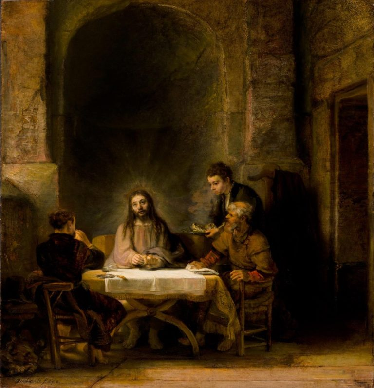 «Ужин в Эммаусе» (1648)