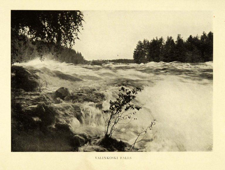 Валлен-Коски – водопад на реке Вуокси в Финляндии