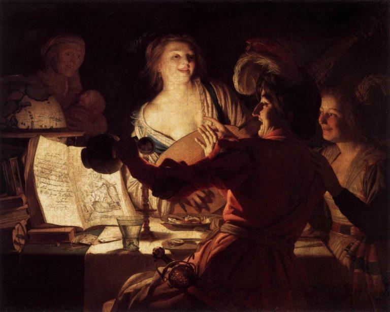Веселая компания. 1623