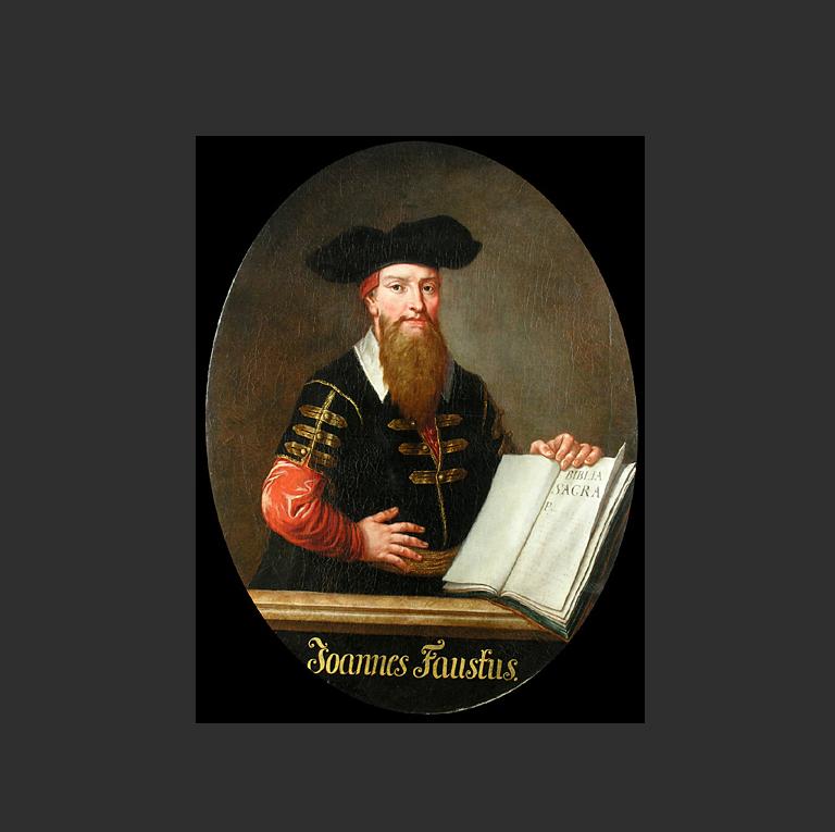 Воображаемый портрет доктора Фауста