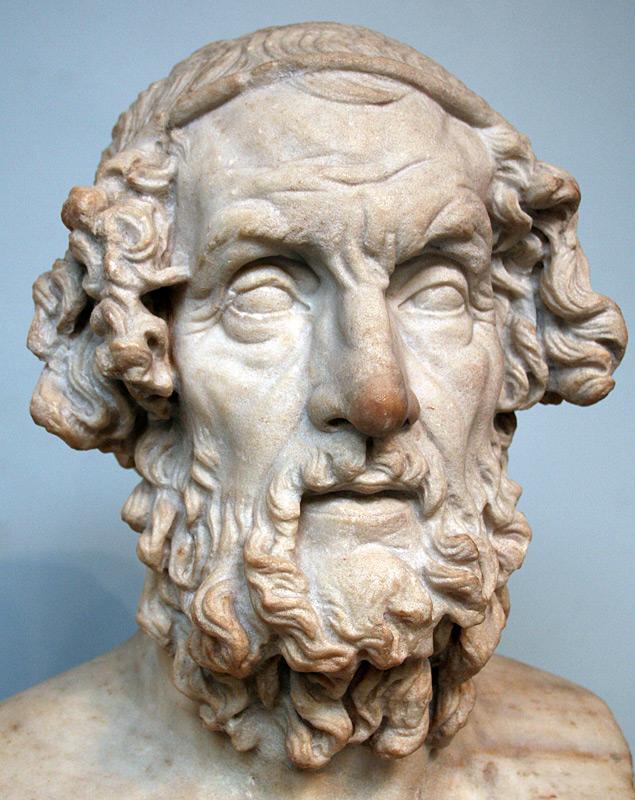 Вымышленный скульптурный портрет Гомера