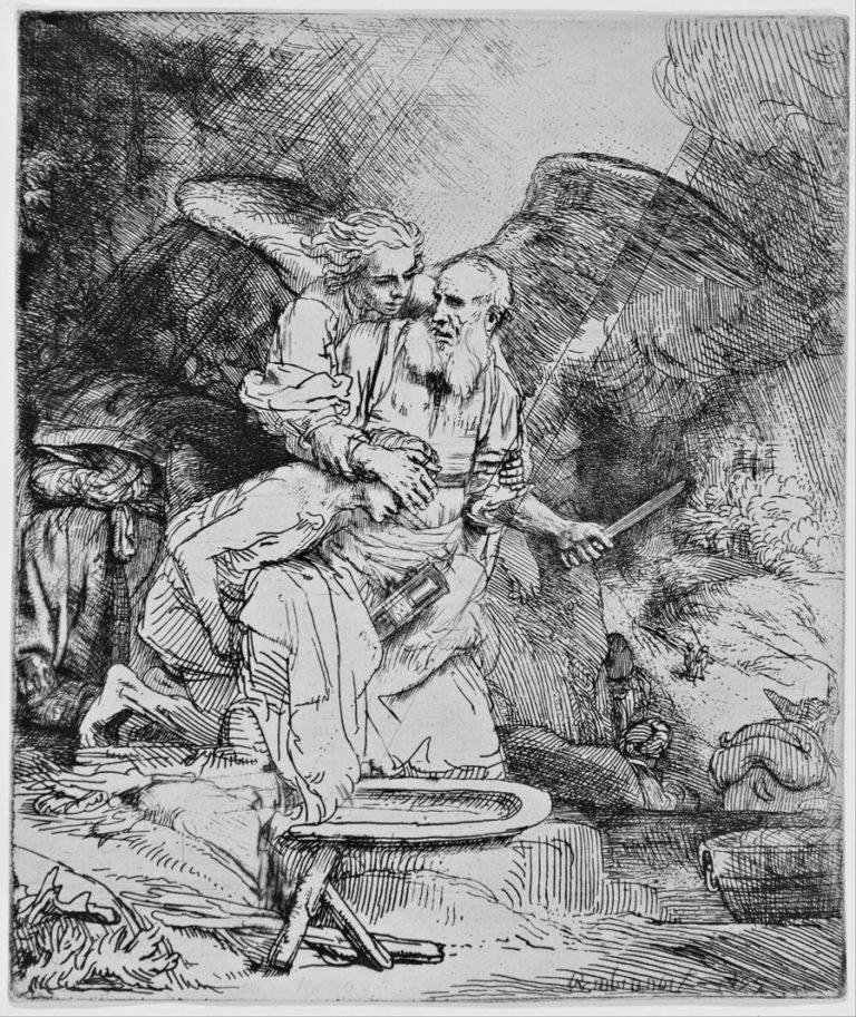 Жертвоприношение Авраама. 1655