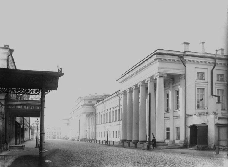 Здание Казанского университета в 1894 г.