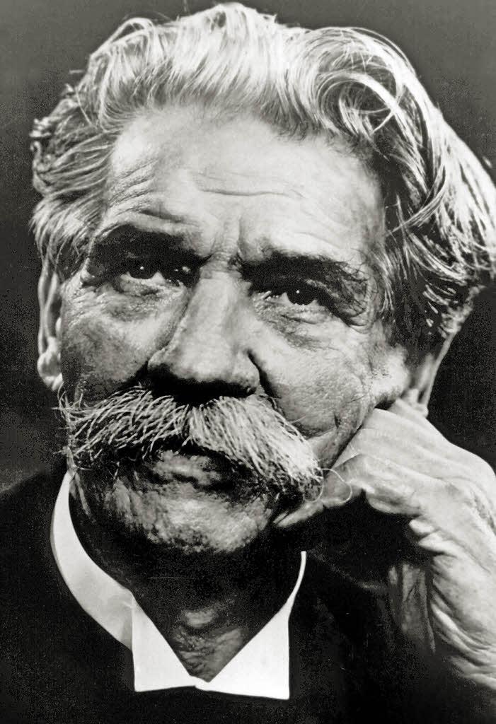 Альберт Швейцер (нем. Albert Schweitzer, 1875 — 1965)
