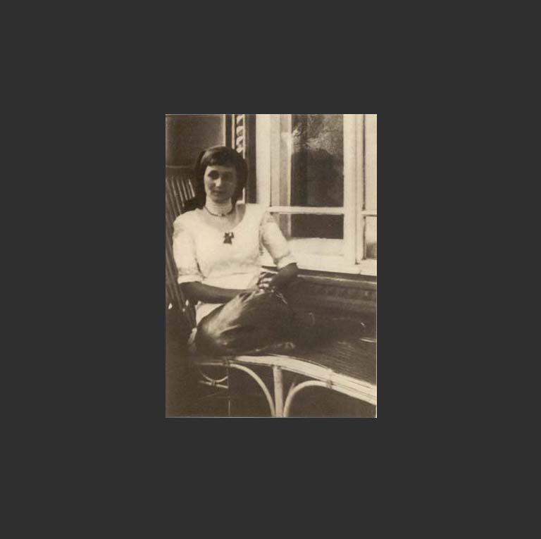 Анна Ахматова в деревне Слепнёво