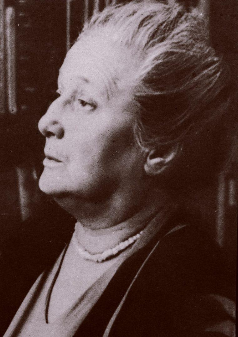 Анна Ахматова в последние годы жизни
