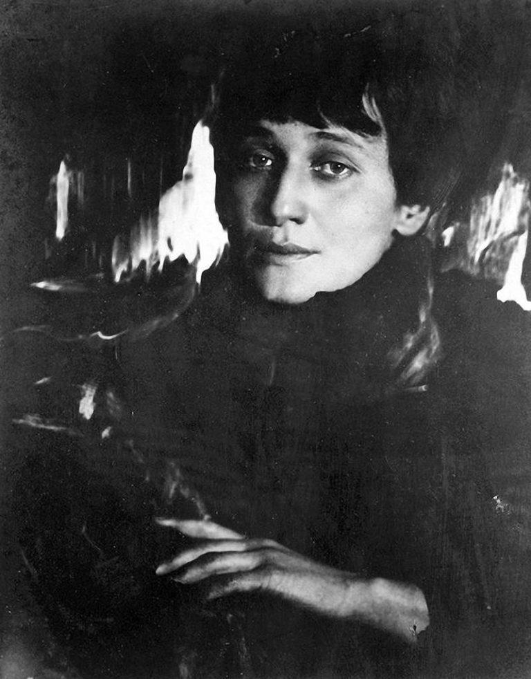 Анна Ахматова. 1921 г.