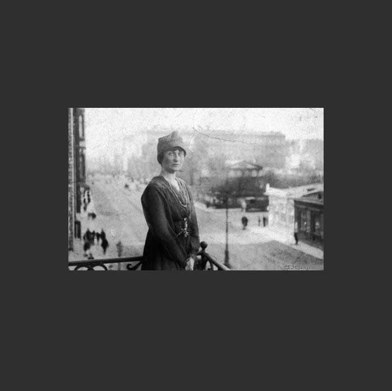 Анна Ахматова. Фото 1917 года
