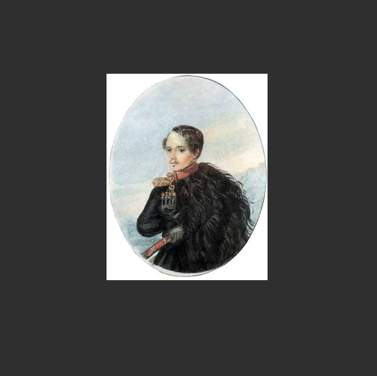 Автопортрет М. Ю. Лермонтова, 1837-38