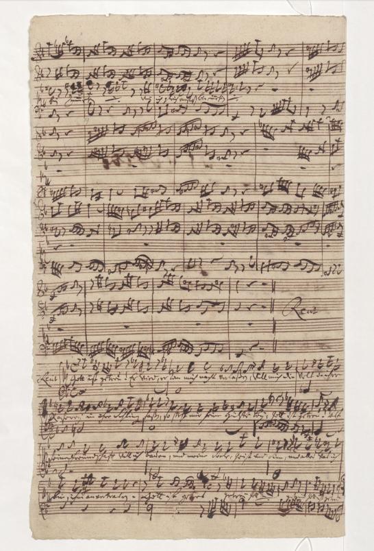 BWV 52. No 4. Речитатив
