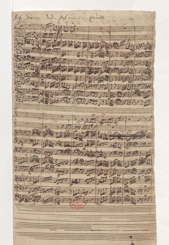 BWV 52. Sinfonia