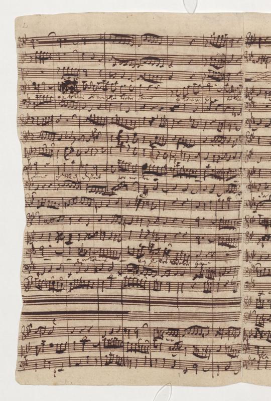 BWV 56. Ария 1. Бас (С. 2)