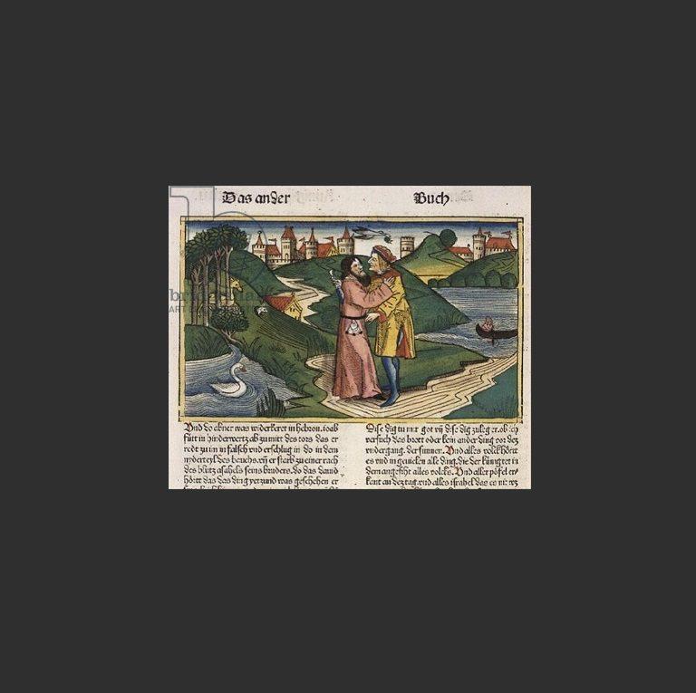 Иоав убивает Авенира