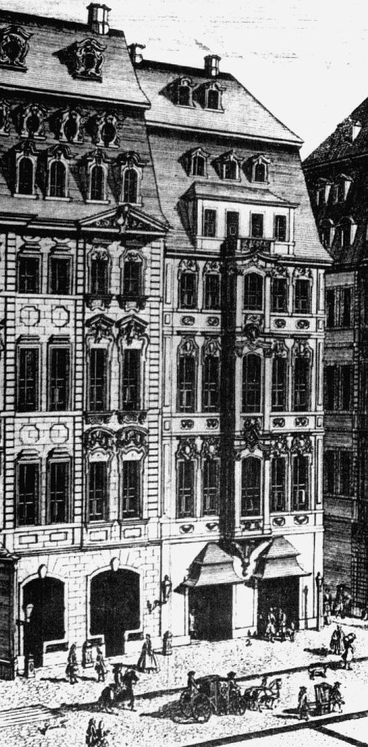 Кофейня Готфрида Циммермана. 1732
