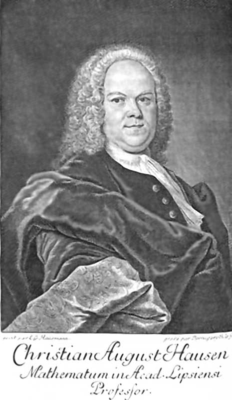 Кристиан Август Хаузен (нем. Christian August Hausen; 1693 – 1743)