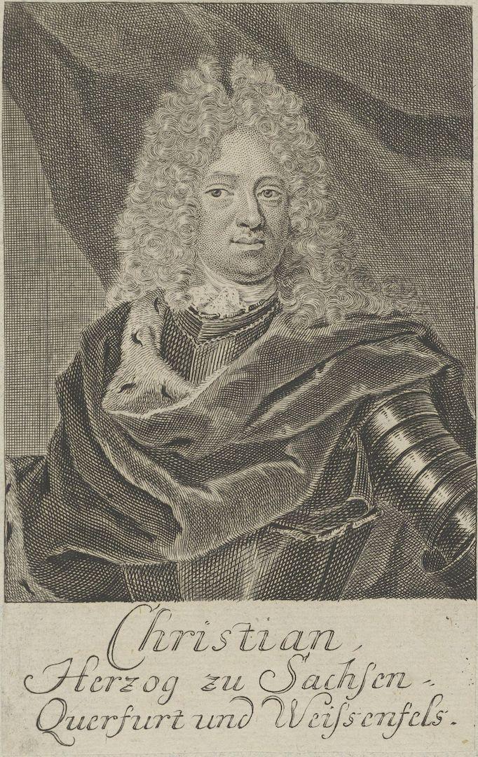 Кристиан Саксен-Вейсенфельский (нем. Christian von Sachsen-Weißenfels, 1682 — 1736)