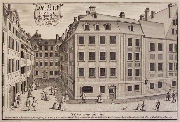 Лейпциг, 1730 г.