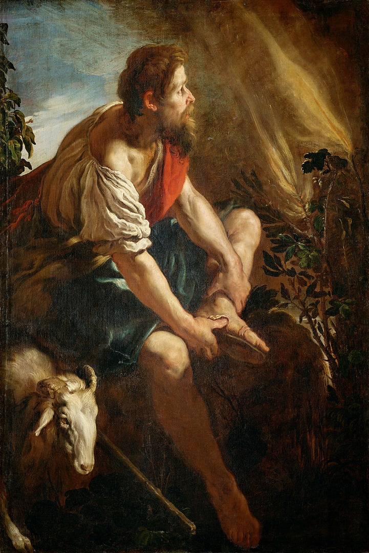 Моисей и неопалимая купина. 1615-1617