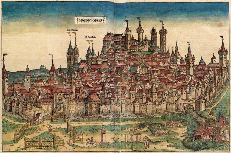 Нюрнберг в XVIII веке
