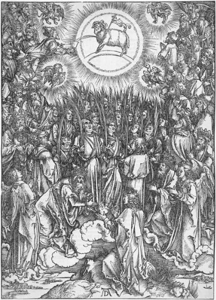 Песнопение избранных. Ок. 1496-1497