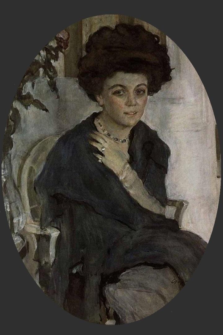 Портрет Е.П. Олив. 1909