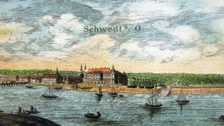 Шведтская резиденция принца Кристиана Людвига на берегу Одера