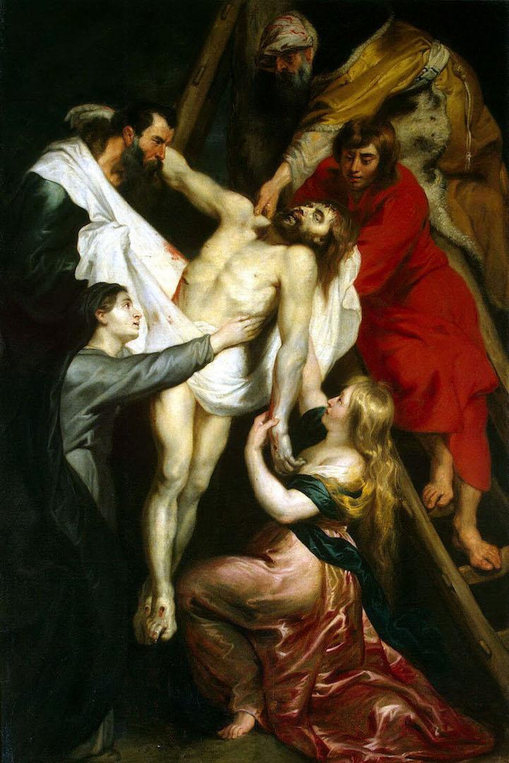 Снятие с креста. 1612
