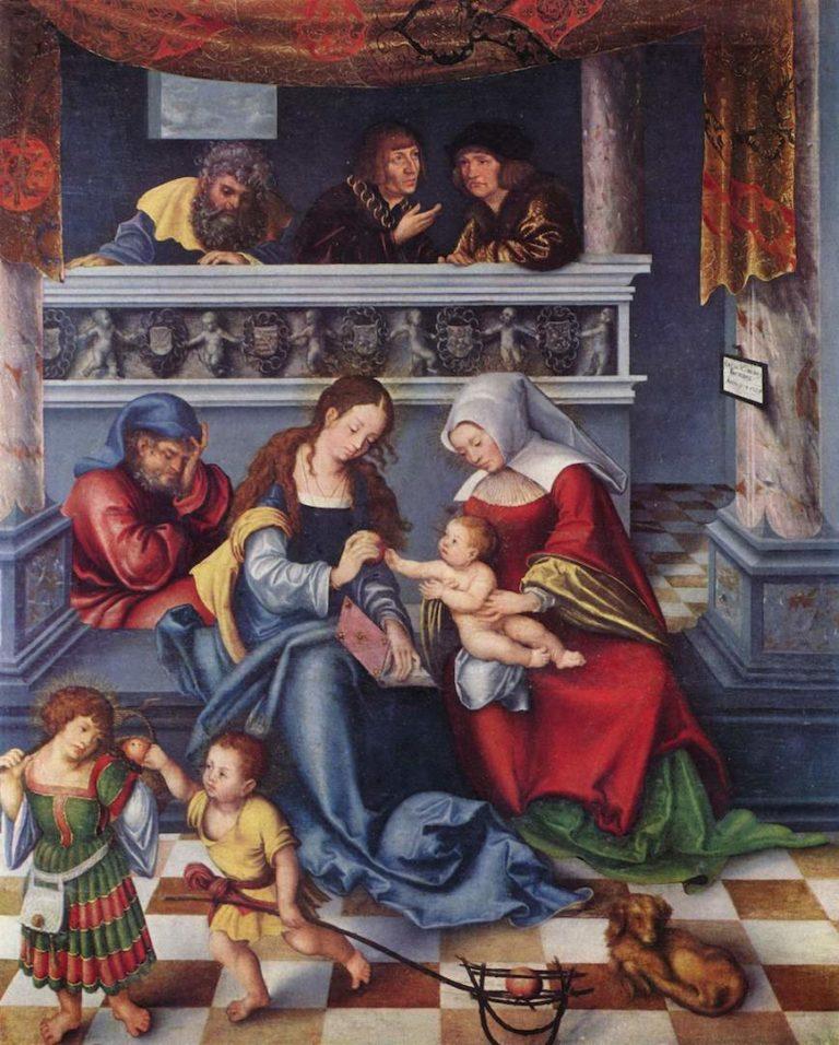 Святое семейство. 1509