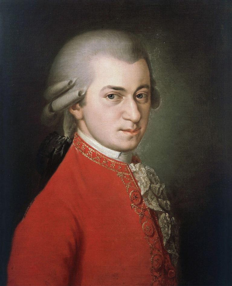 Вольфганг Амадей Моцарт (нем. Wolfgang Amadeus Mozart; 1756 — 1791)