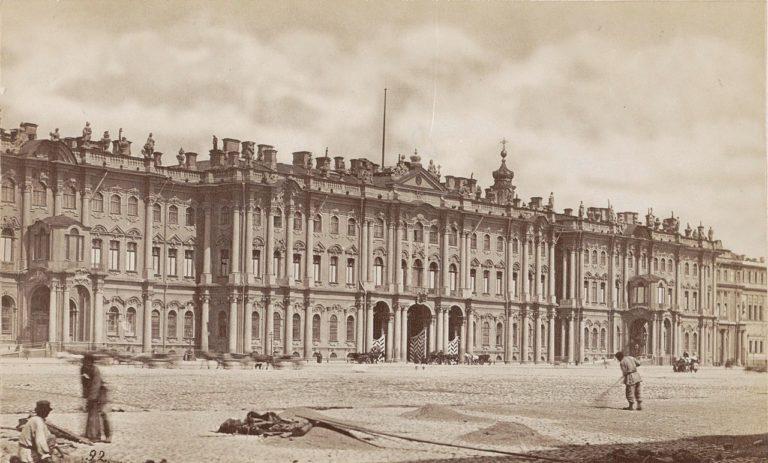 Южный фасад Зимнего дворца