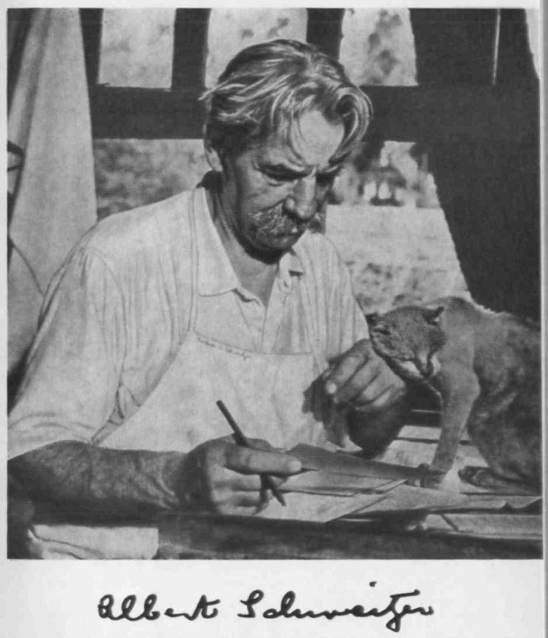 Альберт Швейцер (нем. Albert Schweitzer, 1875-1965)