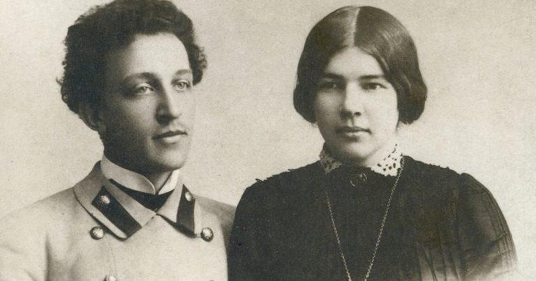 Александр Блок и Любовь Дмитриевна Блок (урожденная Менделеева, 1881—1939)