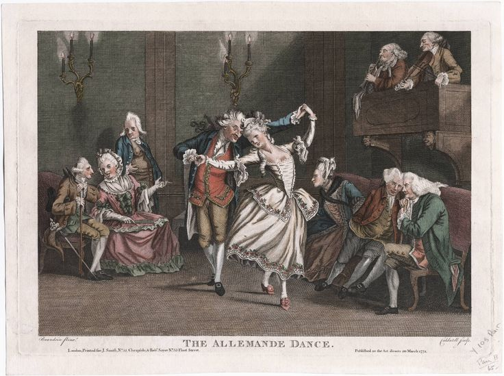 Аллеманда (танец). 1772