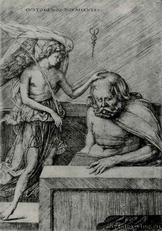 Ангел-хранитель. 1480