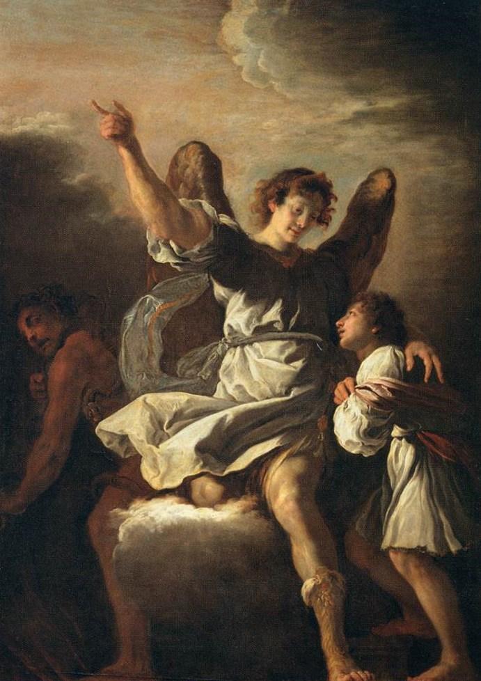 Ангел-хранитель. Ок. 1615-1618