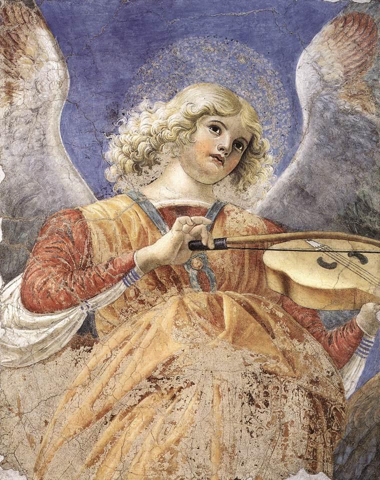 Ангел с виолой. Ок. 1480