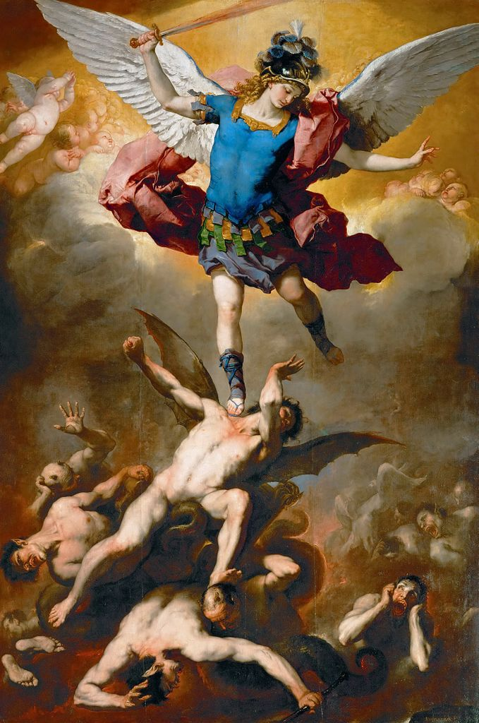 Архангел Михаил и падшие ангелы. 1666