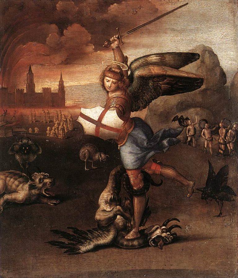 Архангел Михаил. 1504-1505