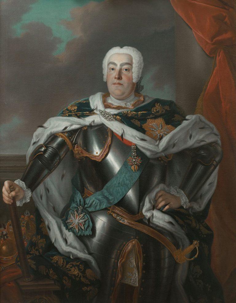 Август III Саксонский (1696-1763). После 1733