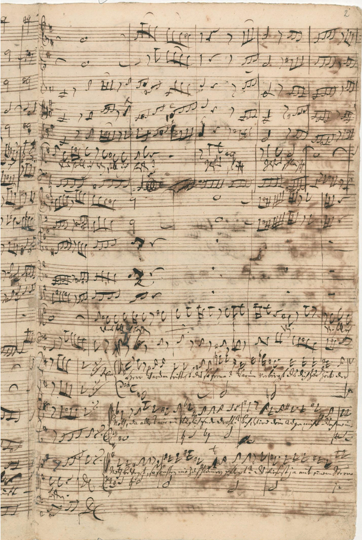 BWV 1. No 2. Recit[ativo]