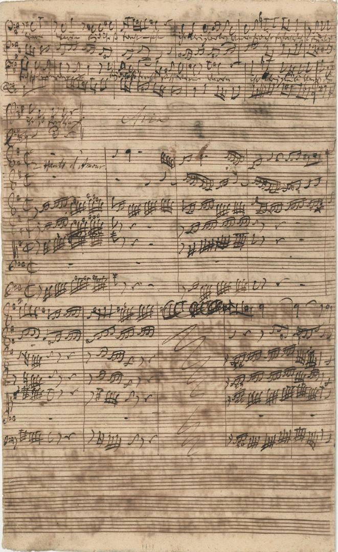 BWV 1. No 5. Aria