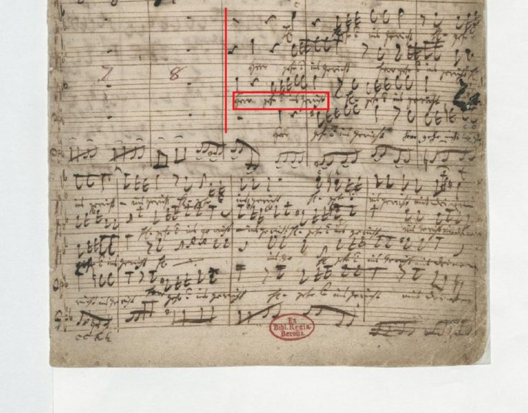 BWV 105 №1. Adagio (3)