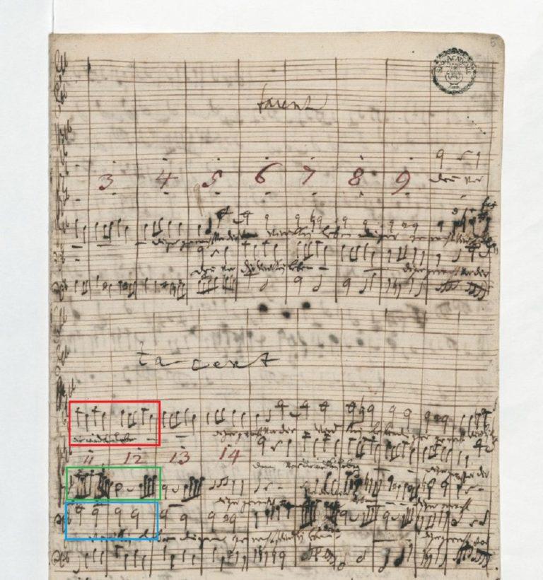 BWV 105 №1. Adagio (page 5)
