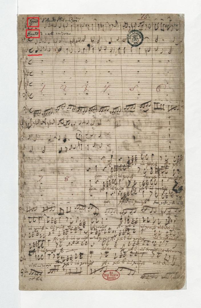 BWV 105 №1. Adagio