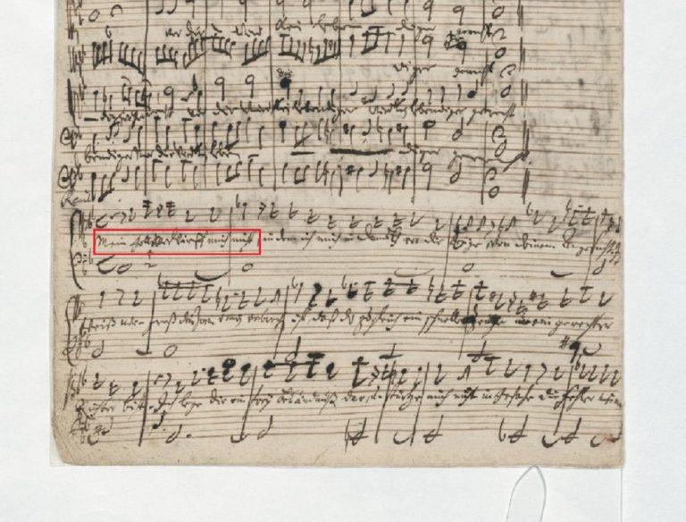 BWV 105 №2. Recit[ativo]