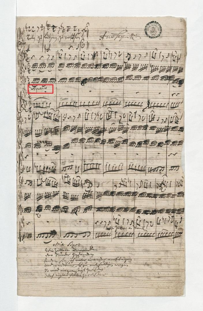 BWV 105 №3. Aria S