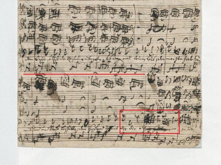 BWV 105 №4. Recit[ativo] (page2)