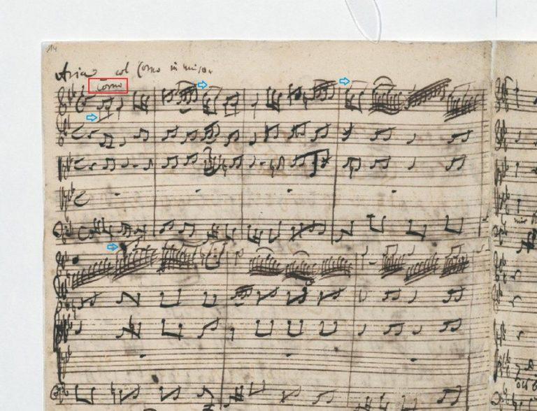 BWV 105. №5. Aria T