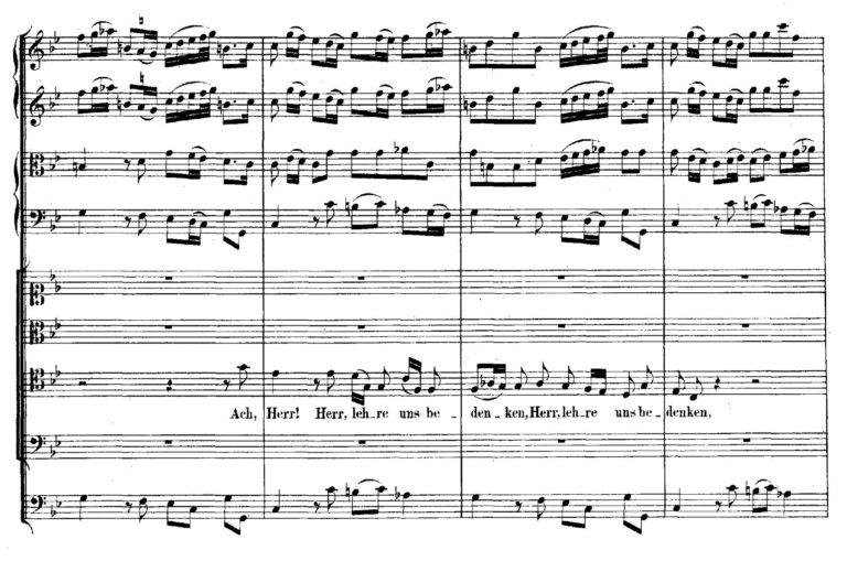 BWV 106. №2b. Arioso T