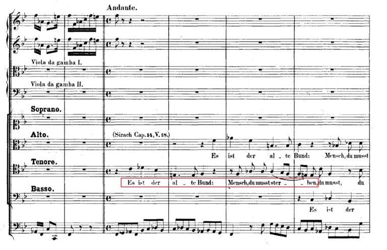 BWV 106. №2d. Coro (2)